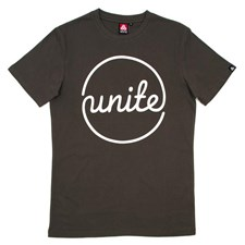 UNITE Overflow T Shirt - Charcoal