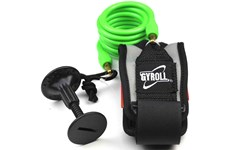 GYROLL Bicep Leash Green