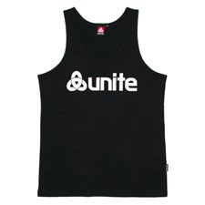 UNITE Trademark Tank Top - Black