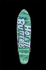 Hot Buttered Street Fighter II Skateboard - Green