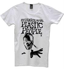 PLASTIC PEOPLE Plague T Shirt - White