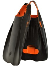 POD Fins PF1 Black and Orange