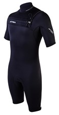 ATTICA WETSUITS OMEGA GBS 2/2mm SPRINGSUIT BLACK - 2012/13 Summer