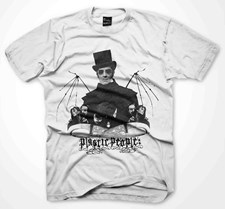 PLASTIC PEOPLE Creepy T Shirt  - White