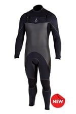 Agent Eighteen Wetsuits SS9 403mm Steamer Black 2013 Winter Range