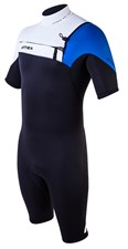 ATTICA WETSUITS OMEGA GBS 2/2mm SPRINGSUIT BLACK/WHITE/ BLUE - 2012/13 Summer