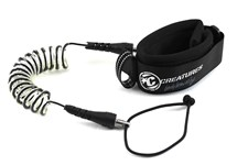 CREATURES OF LEISURE PLC Model Bicep Leash - Black/ Clear