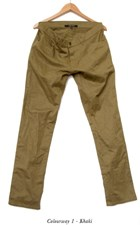 I AM NONE Relaxed Fit Khaki Chino's