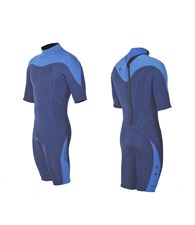 ZION WETSUITS MATLOCK 2/2mm Springsuit - Navy Blue/Sea Blue