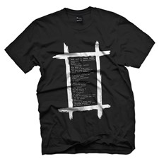 PLASTIC PEOPLE Drug User T Shirt - Black