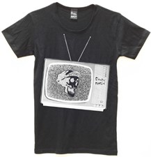 PLASTIC PEOPLE TV T Shirt - Black
