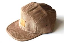 I AM NONE Corduroy 5 Panel Hat - Desert