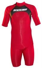Dunes Warrior Springsuit 2/2mm - Red/ Black/ White
