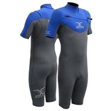 REEFLEX WETSUITS JUPITER 2/2mm CHEST ZIP SPRINGSUIT - Glacier