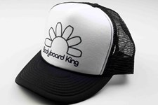 Bodyboard King Outline Logo Trucker Hat