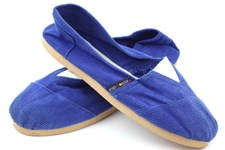 Applegator Shoes - Blue Cord