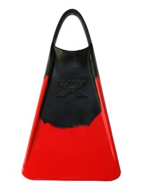 CUSTOM X FINS - BLACK/ RED