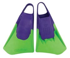 VISION SWIM FINS -  Purple/ Green