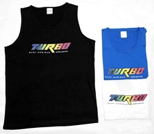 Turbo Bodyboards Logo Singlet