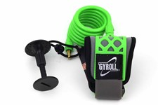 GYROLL Wrist Leash Green