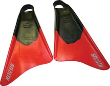 STEALTH FINS - Red and Black