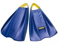 POD Fins PF2 Navy Blue / Yellow