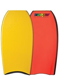 Turbo Bodyboards Turbo V Freedom 6 (PP) Core - 2012/13 Model - Yellow Deck