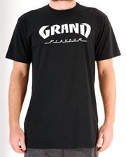 GRAND FLAVOUR Thrasher T Shirt - Black