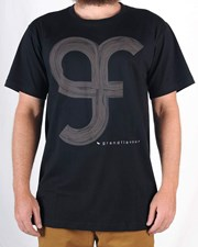 GRAND FLAVOUR Driftwood T Shirt - Black