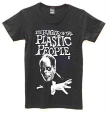PLASTIC PEOPLE Plague T Shirt - Black