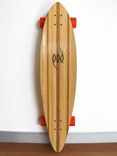 Pod Pin Tail Longboard Skateboard