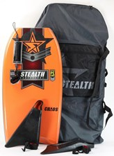 Stealth Bodyboards Chaos PE Core Package Deal - 2012/13 Model