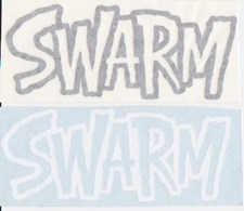 Swarm Die Cut Sticker  - Small