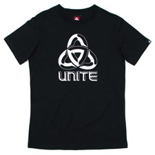 UNITE Stipple T Shirt - Black