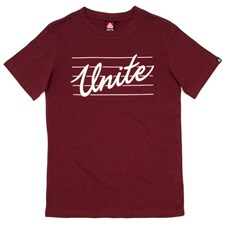 UNITE Triple Play T Shirt - Burgundy