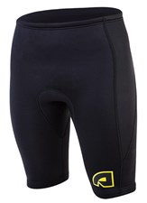 ATTICA 2mm WETSUIT SHORTS BLACK/ YELLOW - 2012/13 SUMMER