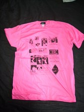 PLASTIC PEOPLE GAMES T SHIRT - PINK