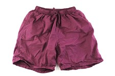 ZION WETSUITS Clubbed to Death Maroon Boardshorts