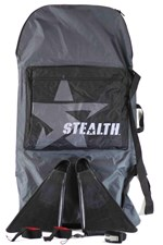 Stealth Boardbag/ Fins/ Leash/ Fin Savers Package Deal - 2012/13 Model