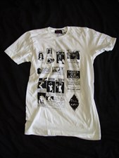 PLASTIC PEOPLE GAMES T SHIRT - White