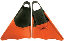 ALLY FINS -  Black/ Orange