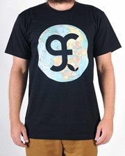 GRAND FLAVOUR Going Global T Shirt - Black