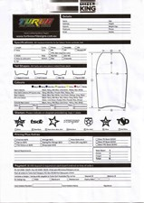 Turbo Custom Bodyboard Order Form