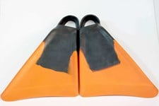 4 PLAY FINS - Black and Orange