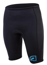 ATTICA 2mm WETSUIT SHORTS BLACK/ BLUE - 2012/13 SUMMER