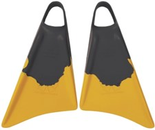 CHURCHILL FINS  - BLACK and GOLD
