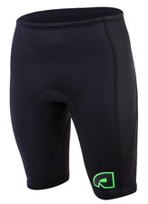 ATTICA 2mm WETSUIT SHORTS BLACK/ LIME - 2012/13 SUMMER