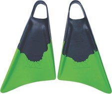 CHURCHILL FINS  - BLACK and GREEN