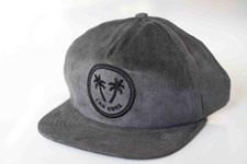 I AM NONE Corduroy Holiday Hat - Steel City Grey