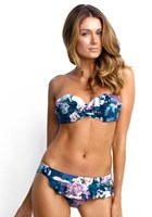 Isola Orient Express Frill Plunge Balconnette Bikini Top